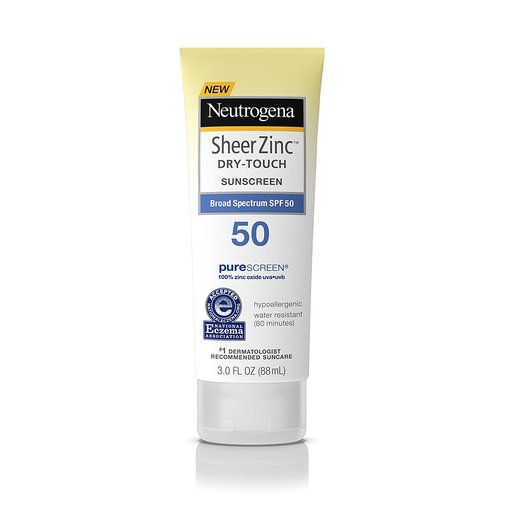 Neutrogena Sheer Zinc Dry-Touch Sunscreen SPF50+ PA++++ 80ml