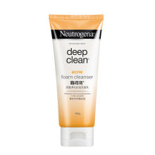 Neutrogena® Deep Clean® Acne Foam Cleanser 100g