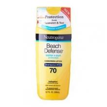 Neutrogena® Beach Defense® Sunscreen Lotion SPF 70 198ml