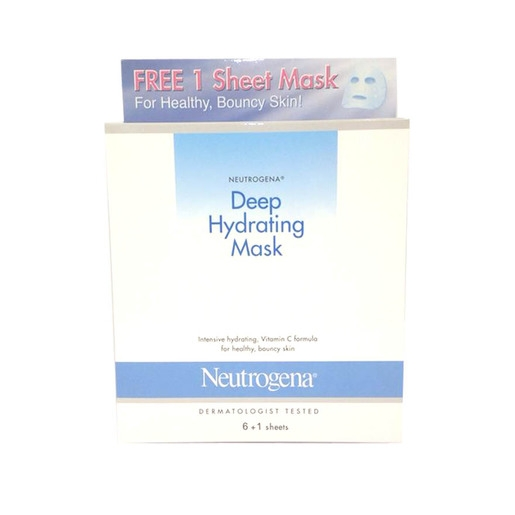 Neutrogena® Deep Hydrating Mask (6 + 1 Pieces)