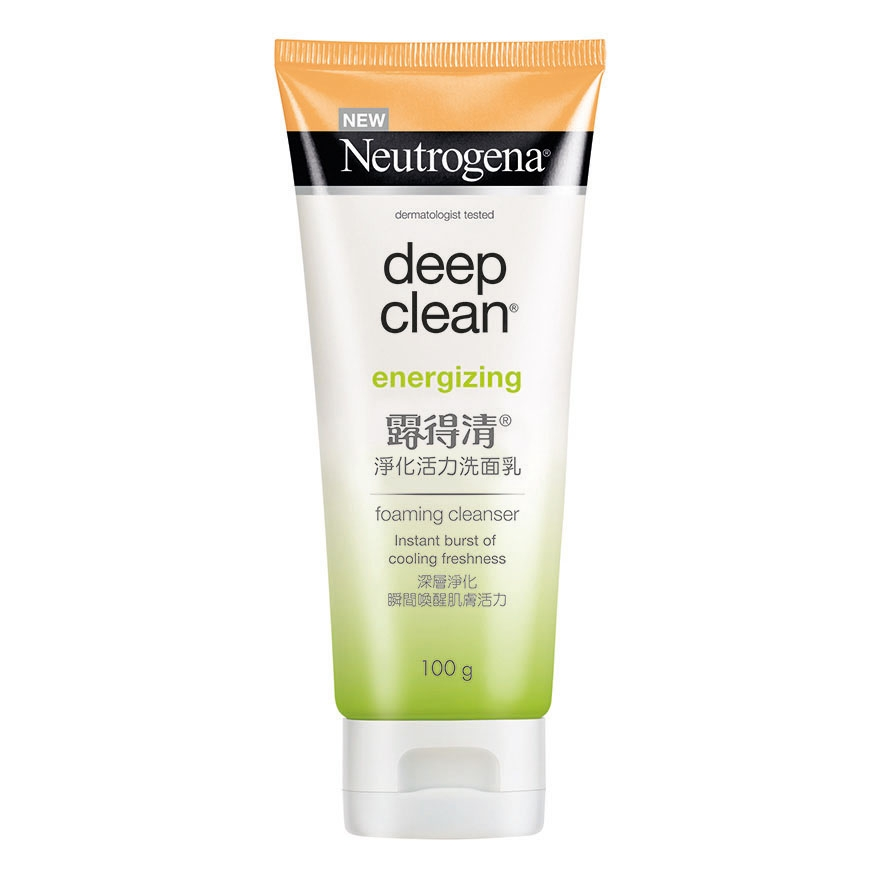 Neutrogena® Deep Clean® Energizing Foam Cleanser 100g