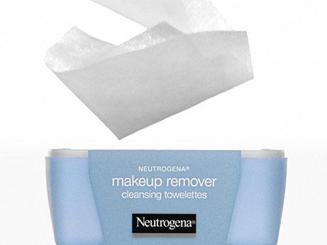 Remove makeup with just one wipe